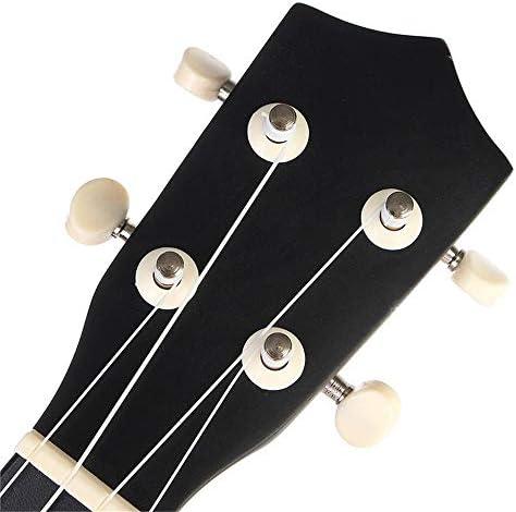 ギター 学生の子供ギグバッグ弦チューナーリトルギターで21インチの経済ソプラノウクレレウケ楽器 - ブラック クラシック ギター (Color : Black, Size : 53 x 17 x 5cm)