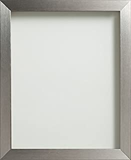 frame company simpson range 18 x 12 inch picture and photo frame silver