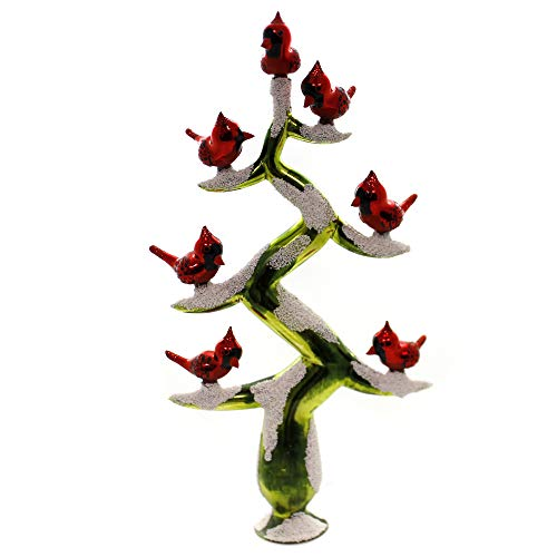 Morawski Cardinals TREETOPPER Glass Tree Branches Poland...