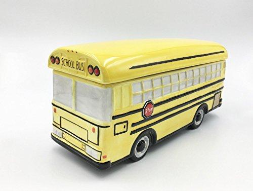 Bus Cookie Jar (AC-1928 COSMOS GIFTS SCHOOL BUS COOKIE JAR AND MUSIC BOX)