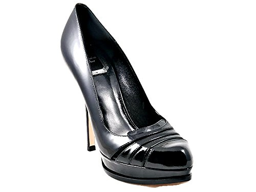Dior Christian Glam Black Patent Leather Shoes 38 US (Christian Dior Patent Leather)