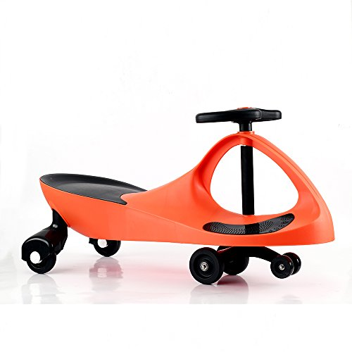 Wiggle Car Ride On Toy Twist Go Swivel Scooter Swing Gyro Car, for Kid Child (Kids Swivel)