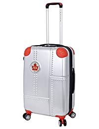 Trans-Canada Airlines Lockheed 24-Inch Expandable Spinner Luggage, Silver, Checked-Medium