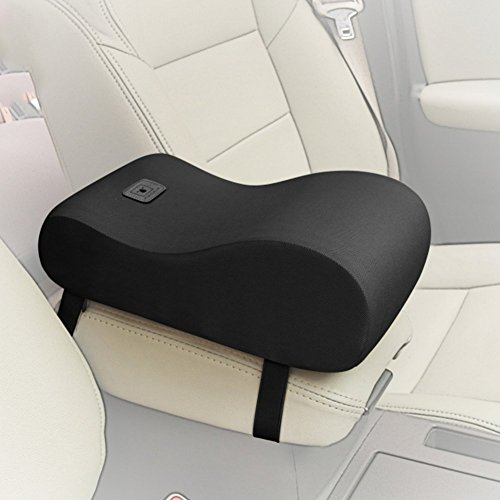A.B Crew Breathable Soft Memory Foam Car Armrest Center Consoles Cushion All Seasons Universal Auto Seat Cushion (Black) (Universal Center Armrest compare prices)