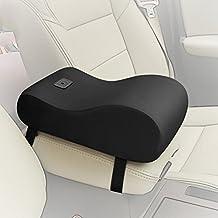 A.B Crew Breathable Soft Memory Foam Car Armrest Center Consoles Cushion All Seasons Universal Auto Seat Cushion (Black)