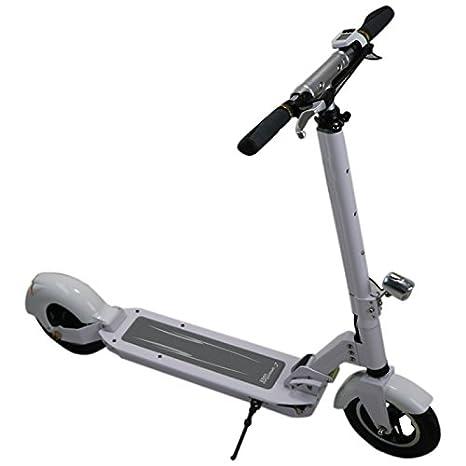 SMARTGYRO Viper Patín Scooter eléctrico, Unisex Adulto, Blanco, 8