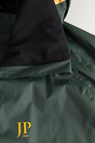 JP 1880 Herren große Größen | Funktionsjacke | strapazierfähig, winddicht, wasserabweisend und atmungsaktiv | dunkelgrün 3XL 702386 41-3XL
