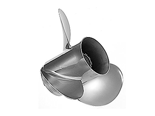 Quicksilver Silverado Propeller High Polished Stainless Finish, 13 dia x 18