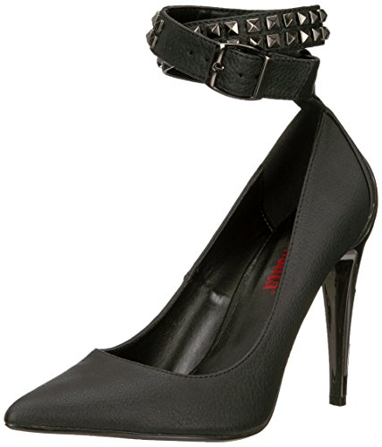 Demonia VOLTAGE-05 Blk Vegan Leather