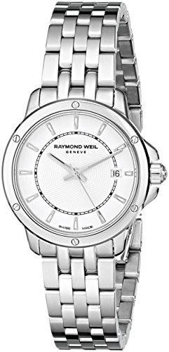 Raymond Weil Women's 5391-ST-30001 Tango Analog Display Swiss Quartz Silver Watch