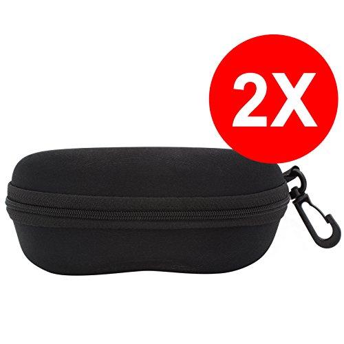 22a82a0c46 image TBOC Pack: Étui à Lunettes Noire Rigide – (Deux Unités) Boîte Lunettes