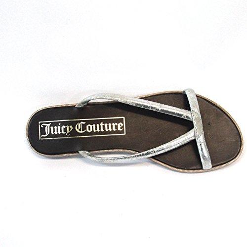 Juicy Couture Moda Estilo futurista Sandalias Talla 4para mujer