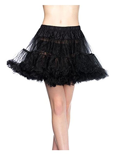 Leg Avenue Women's Petticoat, Black -