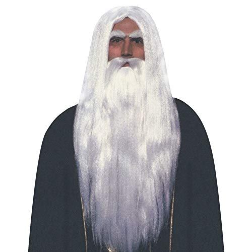 Forum Novelties Merlin Wig and Beard Set -