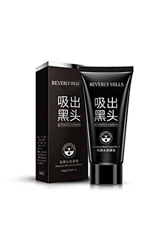 Blackhead Remover Mask, Black Peel off Mask, Purifying Acne Face Peel Off Black Mud Mask