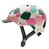 Nutcase - Patterned Street Bike Helmet for Adults, Pebbles, Medium