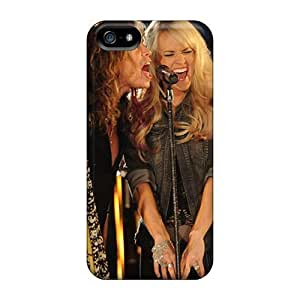 TammyCullen Iphone 5/5s Perfect Hard Phone Case Allow Personal Design Realistic Aerosmith Band Skin [UWr6789paoQ]
