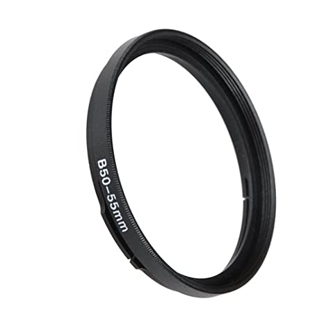 Anodized Black Metal Filter Adapter Ring Fotodiox Bayonet 70 B70-77mm Step Up Filter Adapter Ring for Hasselblad
