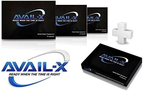 Avail-X Natural Male Enhancement & Testosterone Booster (40 Caps)