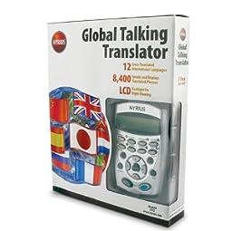 Nyrius LT12 12 Language Global Digital Talking Translator Foreign Pocket-Sized Electronic Speaking Dictionary