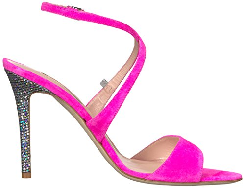 con Mujer Pulsera by SJP Parker Elektra Rosa para Sandalia Sarah Jessica Suede Candy wSURwq6