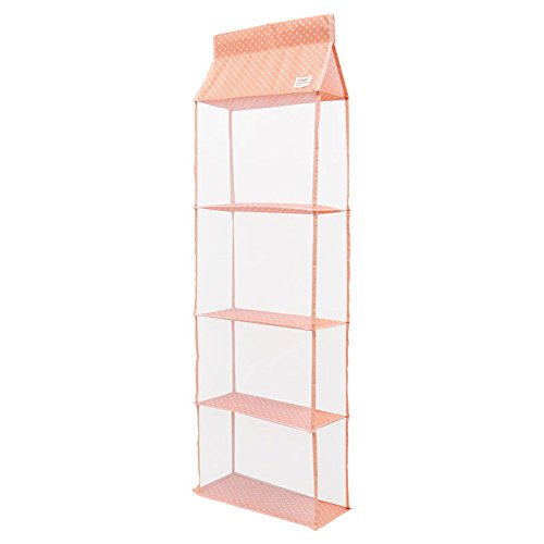 Gobuy Space Save Clear Handbag Anti-dust Hanging Closet Bags Organizer Purse Holder Collection