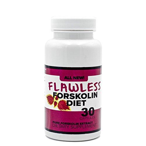 Flawless Forskolin Diet- All Natural Fat Burner and Appetite Suppressant-100% Natural, Pure, Potent Ingredients(Best Coleus Forskohlii on The Market) - Safe Weight Loss Supplement for Women & Men