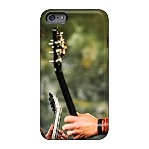 Perfect Hard Cell-phone Case For Iphone 6 (GYw11397lzdJ) Support Personal Customs Beautiful Machine Head Band Skin