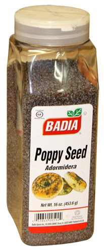 Badia Poppy Seed 16 oz by Badia