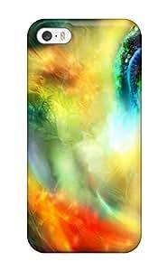 Iphone 5/5s Hard Back With Bumper Silicone Gel Tpu Case Cover Female