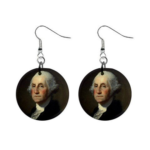 President George Washington Earrings