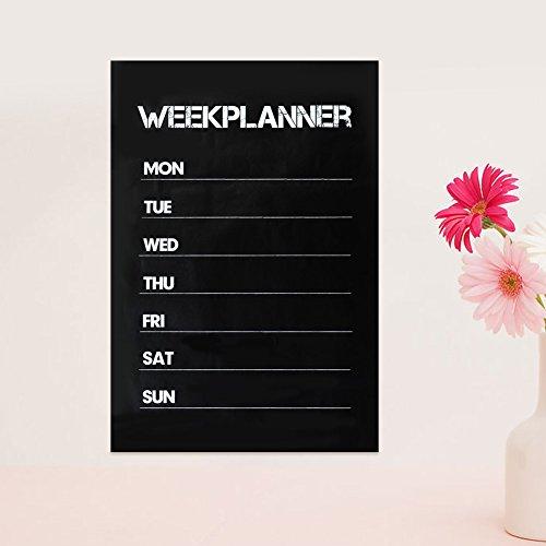 Dec Business Calendar (Haihuic Dry Erase Magnetic Refrigerator Weekly Calendar, Removable Weekly Plan Planner Memo Blackboard Wall Sticker Dec)