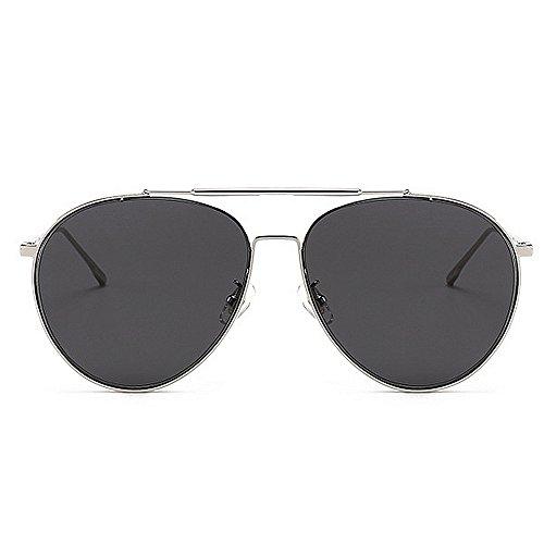 Yxsd Brown de Gafas Deporte Hombres los de Ligero SunglassesMAN polarizadas de Ultra Sol de Color de Metal Marco Gray Conducción UwdBxOnq