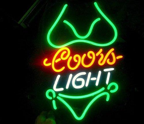real glass neon light sign home beer bar pub recreation room game lights windows garage wall signs. Black Bedroom Furniture Sets. Home Design Ideas
