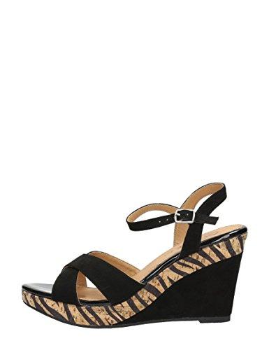 Choizz - Sandalias de vestir de Material Sintético para mujer Negro * target_attribute_value ZWART/ZEBRA