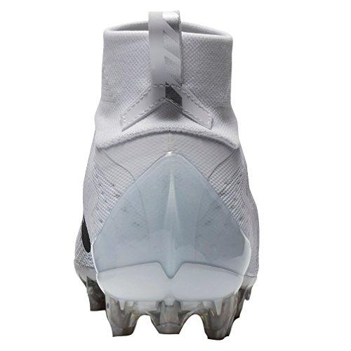 Nike Men's Vapor Untouchable 3 Pro Football Cleats - White/Grey, 9.5 D(M) US
