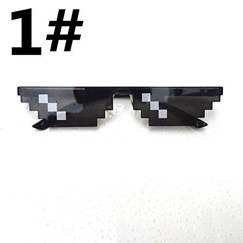 Accreate Thug Life 8-Bit MLG Pixelated - 8 Bit Sunglasses