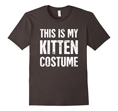 Man Kitten Costume (Mens Funny Kitten Costume T-Shirt 2XL)
