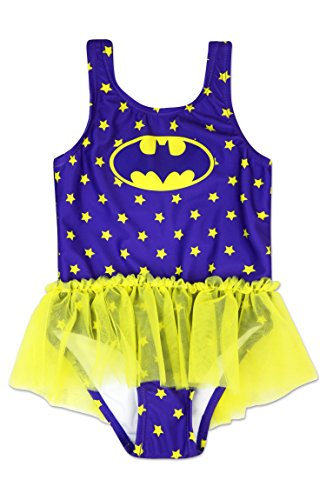 Dreamwave Toddler Girl Batgirl One Piece Swimsuit 2t ()
