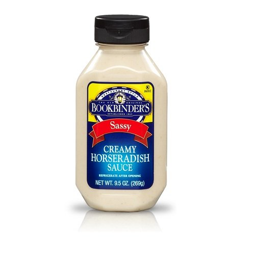 Bookbinder'S, Sqz, Horseradish Sce, Pack of 9, Size - 9.5 OZ, Quantity - 1 Case