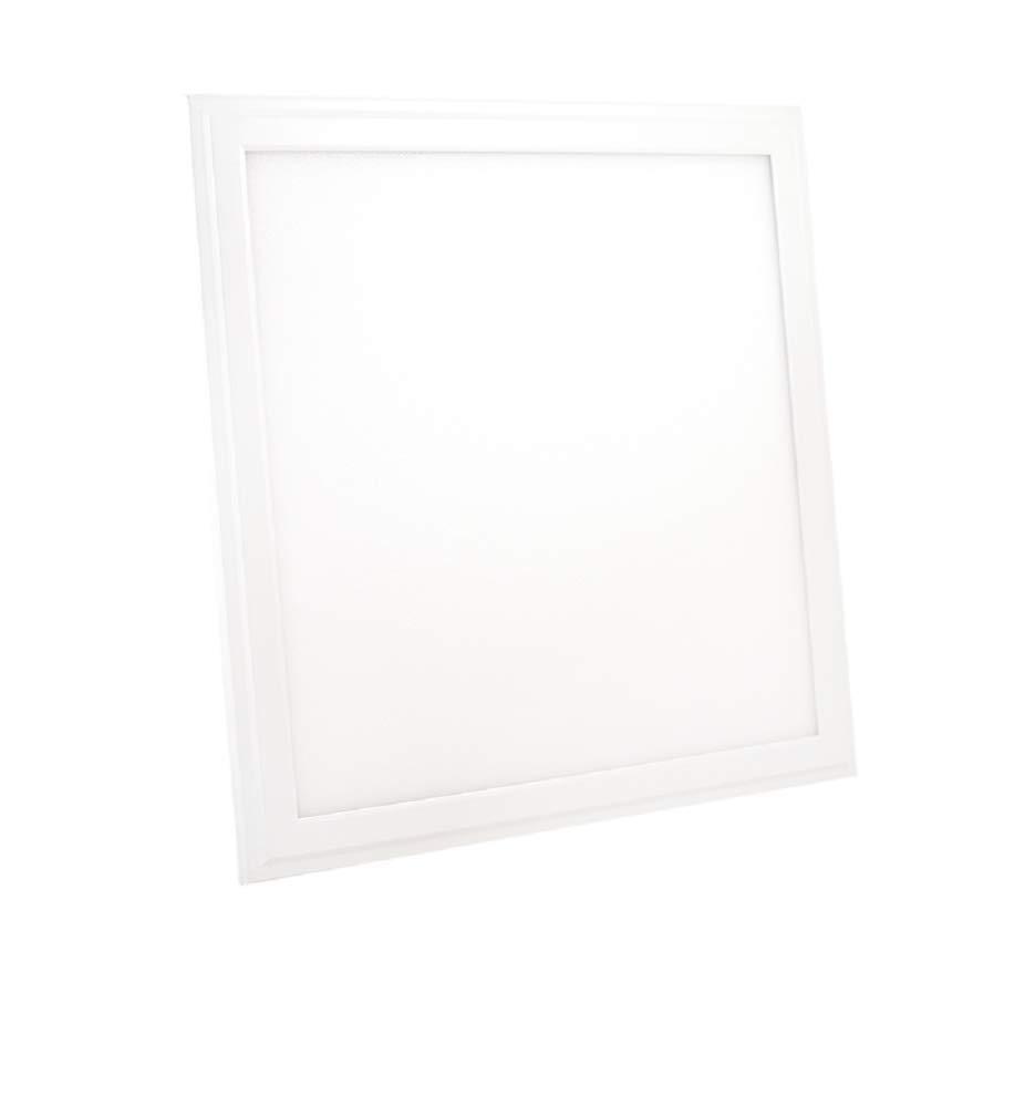 2x LED Panel 30 x 30cm Slim 24W Kaltweiß 1800 lm Deckenleuchte Büro Deckenbeleuchtung Deckenlampe Eckig Flach Aufhängung mit Rahmen inkl. Trafo 2er Pack [Energieklasse A+] ERALight
