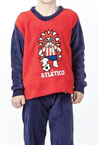 Pijama Atlético de Madrid niño invierno INDI - 6: Amazon.es ...