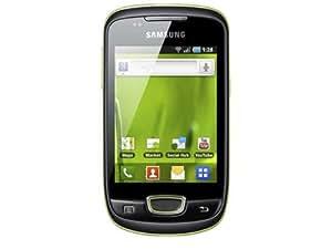 """Samsung S5570 Galaxy Mini - Smartphone libre Android (pantalla táctil de 3,14"""" 240 x 320, cámara 3 MP, 160 MB de capacidad, procesador de 600 MHz) color verde [importado de Alemania]"""