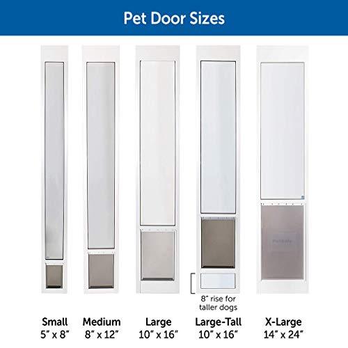 PetSafe Freedom Aluminum Patio Panel Sliding Glass...