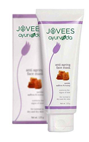 Jovees Ayurveda Sandal, Saffron & Honey Anti Ageing Face Mask 120 g