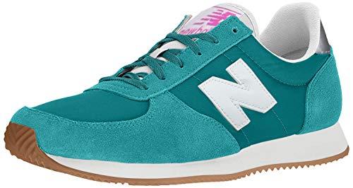 New Balance Women's 220v1 Sneaker, Amazonite/White, 4 W US