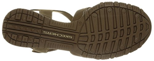 Skechers Mujeres Bikers Giribaldi Sandal Desert Crazyhorse Leather