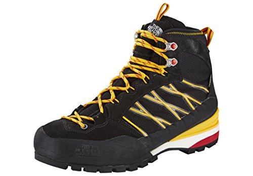 The North Face M Verto S3k Gtx, Zapatillas de Senderismo para Hombre Negro (TNF Black / TNF Yellow)