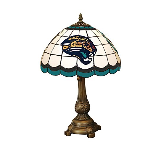 (NFL Jacksonville Jaguars Tiffany Table Lamp)