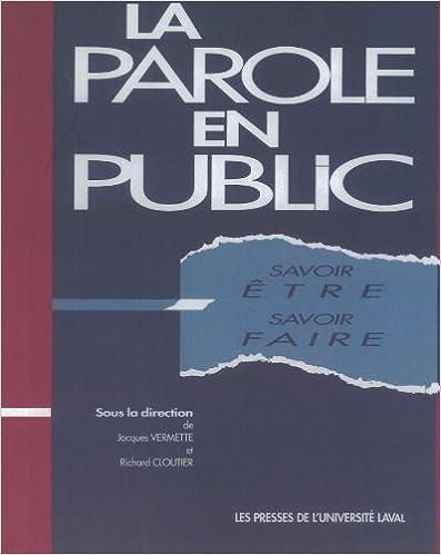 Parole public